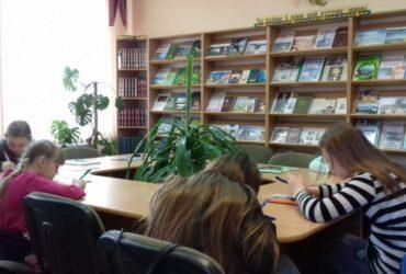 Заседание детского клуба «Лес чудес»