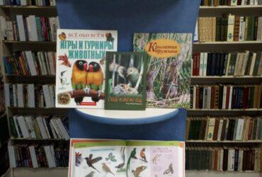 Книжная выставка в Подлабенской СБ