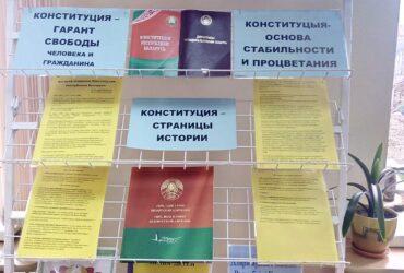 Дзень Канстытуцыі ў Капцеўскай СБ