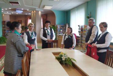 Экскурсія для супрацоўнікаў банка ў Скідзельскай ГБ СЧ