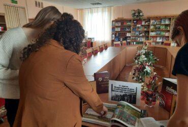 Книжная выставка в Обуховской СБ