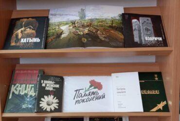 Книжная выставка «Память поколений» в Луцковлянской СБ