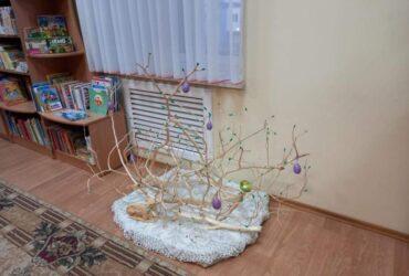 Выставка-инсталляция «Пасхальная фантазия» в Луцковлянской СБ