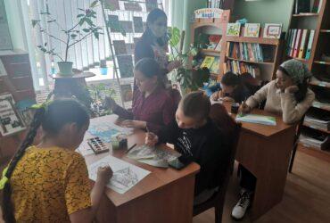Конкурс дзіцячых малюнкаў у Раціцкай СБ