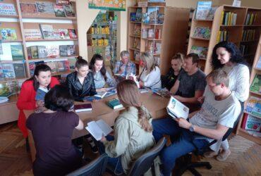 Бібліяфрэш «С новой книгой назначена встреча» прайшоў у Квасоўскай СБ 04.06.2021